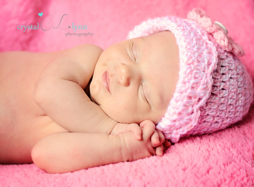 Newborn Photo Session with baby Savannah